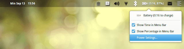 Menampilkan Indikator Battery yang Hilang di Elementary OS