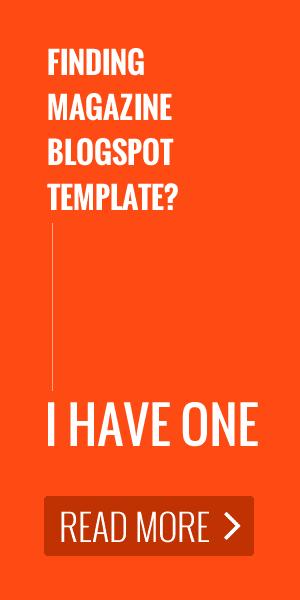 MagOne - Responsive Newspaper & Magazine Blogger Blogspot Template