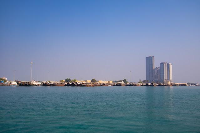 Corniche lungomare Abu Dhabi