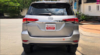 Ngoại thất Toyota Fortuner 2.7V 4x4 AT 2016 đã qua sử dụng màu Bạc