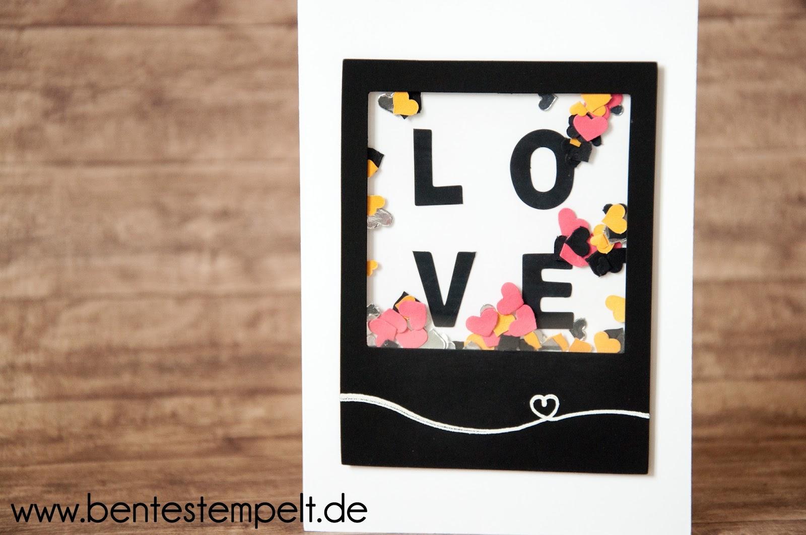 Stempelpartys, Workshops und individuelle Papeterie: Hochzeitskarte ...