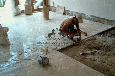 Pemasangan Lantai Marmer