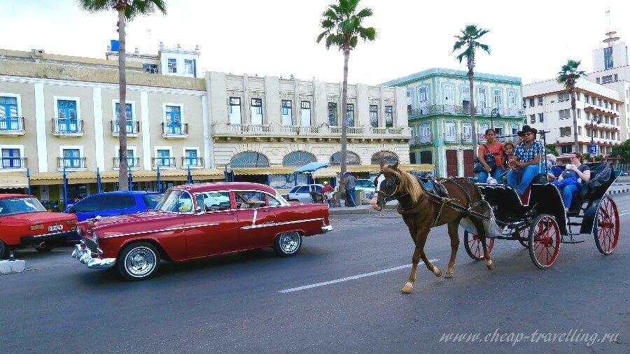 Движение на улицах Гаваны