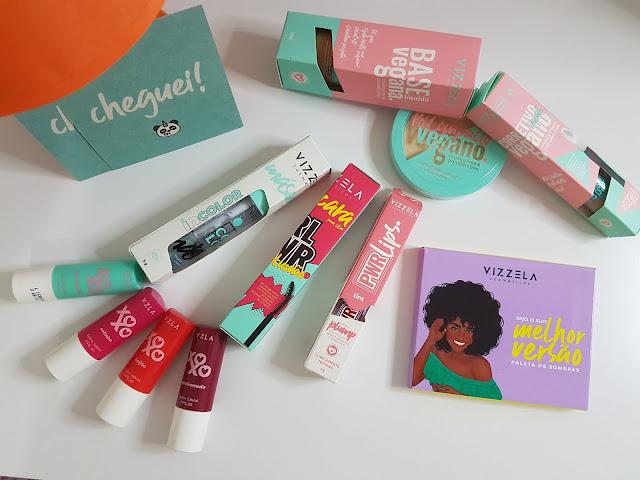 Comprinhas de maquiagens VEGANAS 🌱 | Vizzela | Linha Niina Secrets by Eudora