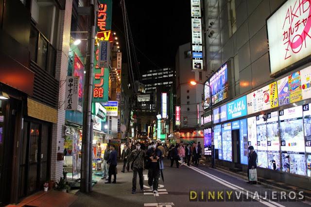 Callejón en Akihabara