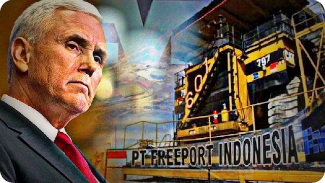 Nasib Freeport Indonesia Belum Masuk Agenda Kunjungan Wapres AS, Mike Pence