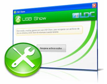 Ver archivos ocultos en Memoria USB