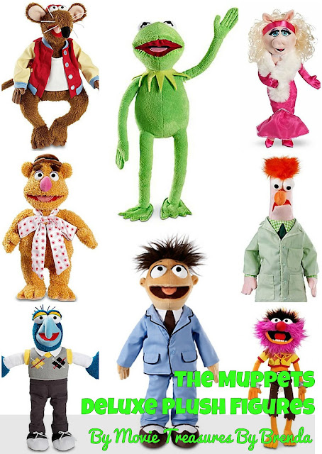 The Muppets Deluxe Plush Toys
