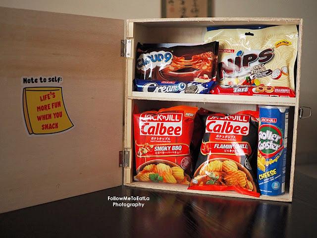 Life's Fun With Jack 'n Jill Fun Treasure Snack Box