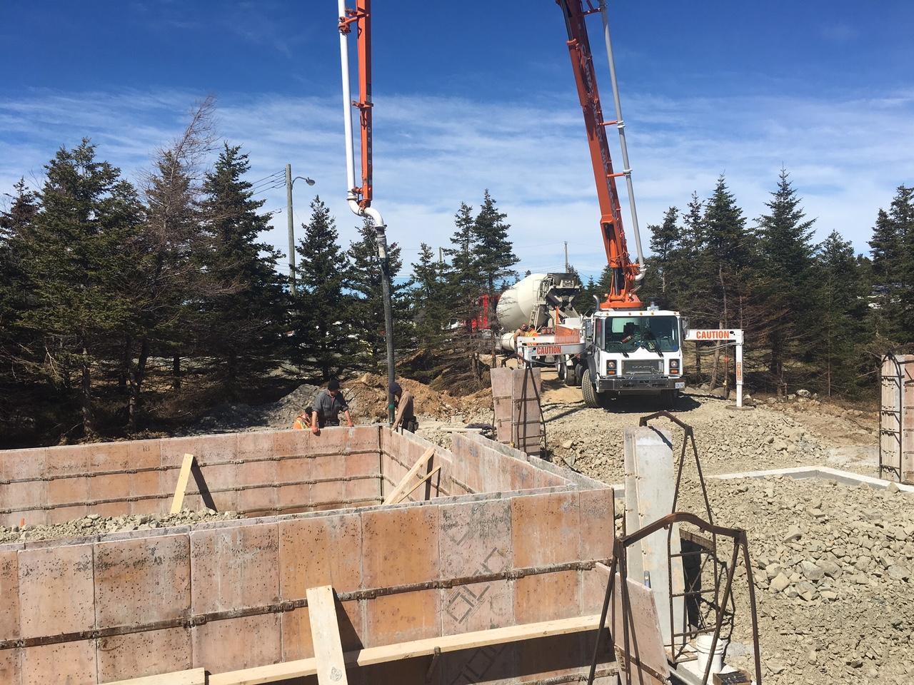 100 poured concrete house lantern house construction update