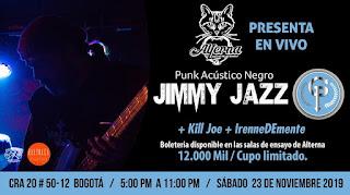 Concierto Acústico con Jimmy Jazz G.P. 2019