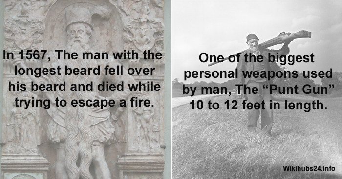 9 Weird And Strange Historical Facts That Are Surprisingly True