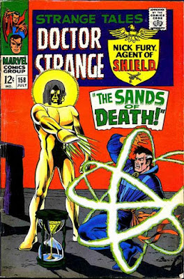 Strange Tales #158, Dr Strange and the Living Tribunal