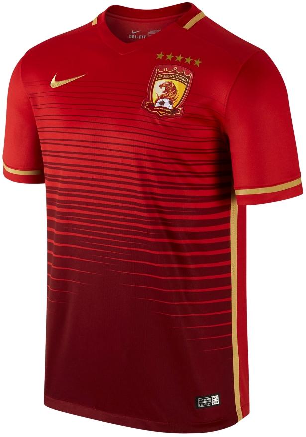 Nike divulga novas camisas do Guangzhou Evergrande - Show de Camisas 7210c33b4978f