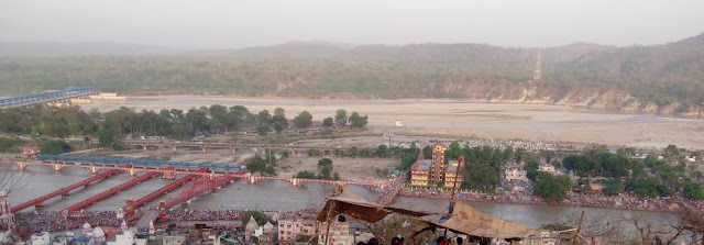 haridwar-top-view