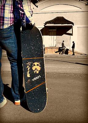 Lixa para skate