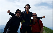 Orhi mendiaren gailurra 2.017 m. -- 2017ko maiatzaren 28an
