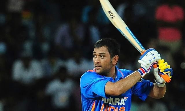 Mahendra Singh Dhoni Wicket Wallpaper