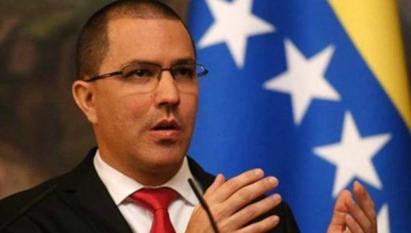 Ministro Arreaza rechaza intentos injerencistas de EE.UU. contra Venezuela