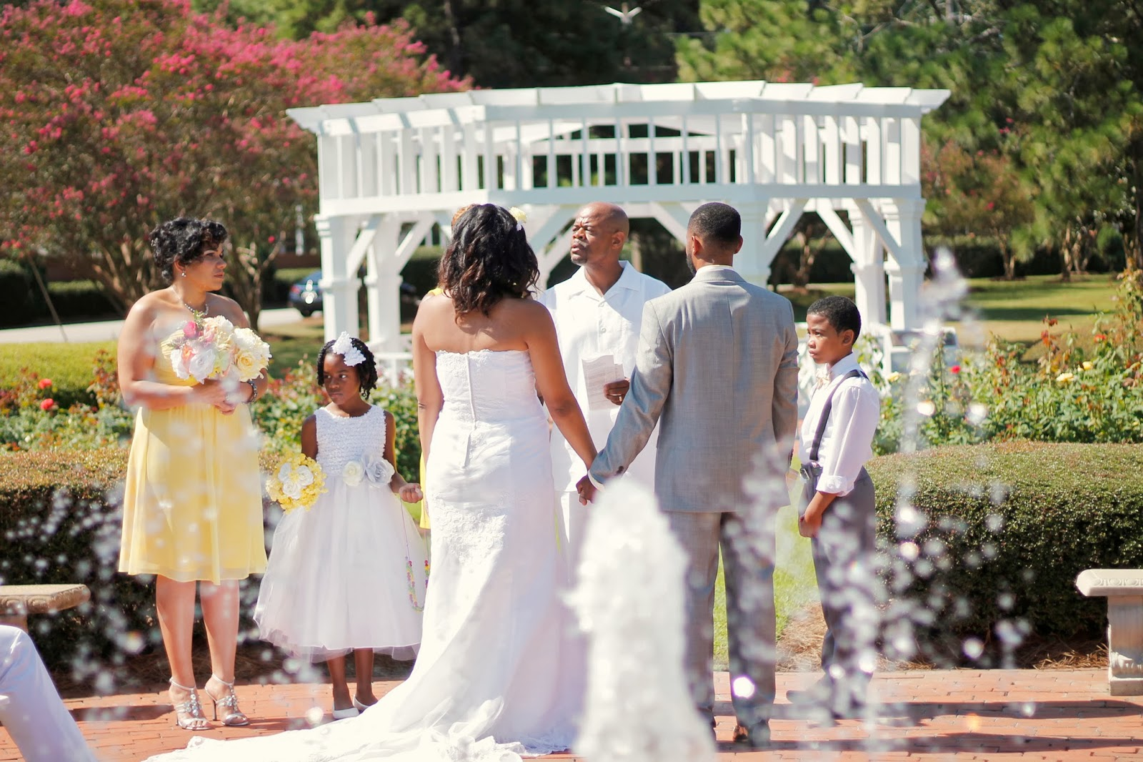 Small Backyard Wedding Doylestown Pa Wedding Photography: Southern Pines NC Wedding Photographer