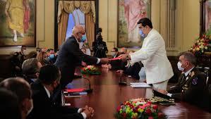 El mandatario nacional, reiteró que el camino correcto es el camino del diálogo,de la búsqueda de acuerdos y soluciones.
