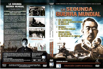 Carátula - Colección Campo de Batalla - DVD 4