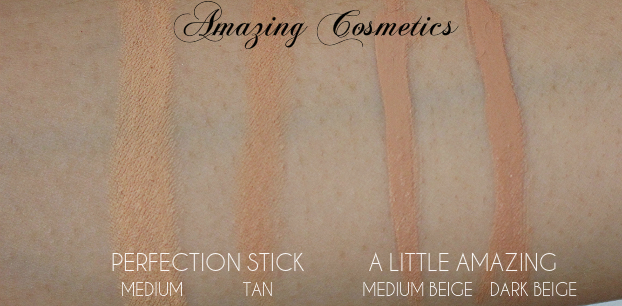 concealer wardrobe, amazing cosmetics perfection stick, amazing cosmetics a little amazing concealer, mural acne treatment concealer, mally perfect prep, it bye bye under eye