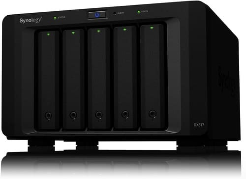 Review Synology 5bay Expansion Unit DX517