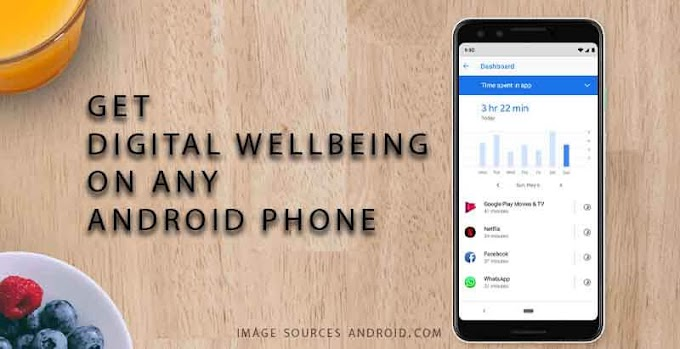 Get Android Pie Digital Wellbeing on Zenfone Max Pro M1 and M2