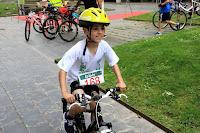 Duatlón infantil del club de triatlón de la Sociedad Ciclista Barakaldesa