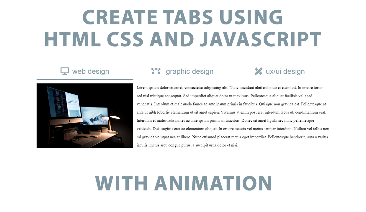 how to make a container in html and css