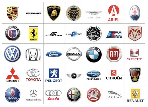 car logos with names 201718 car logos