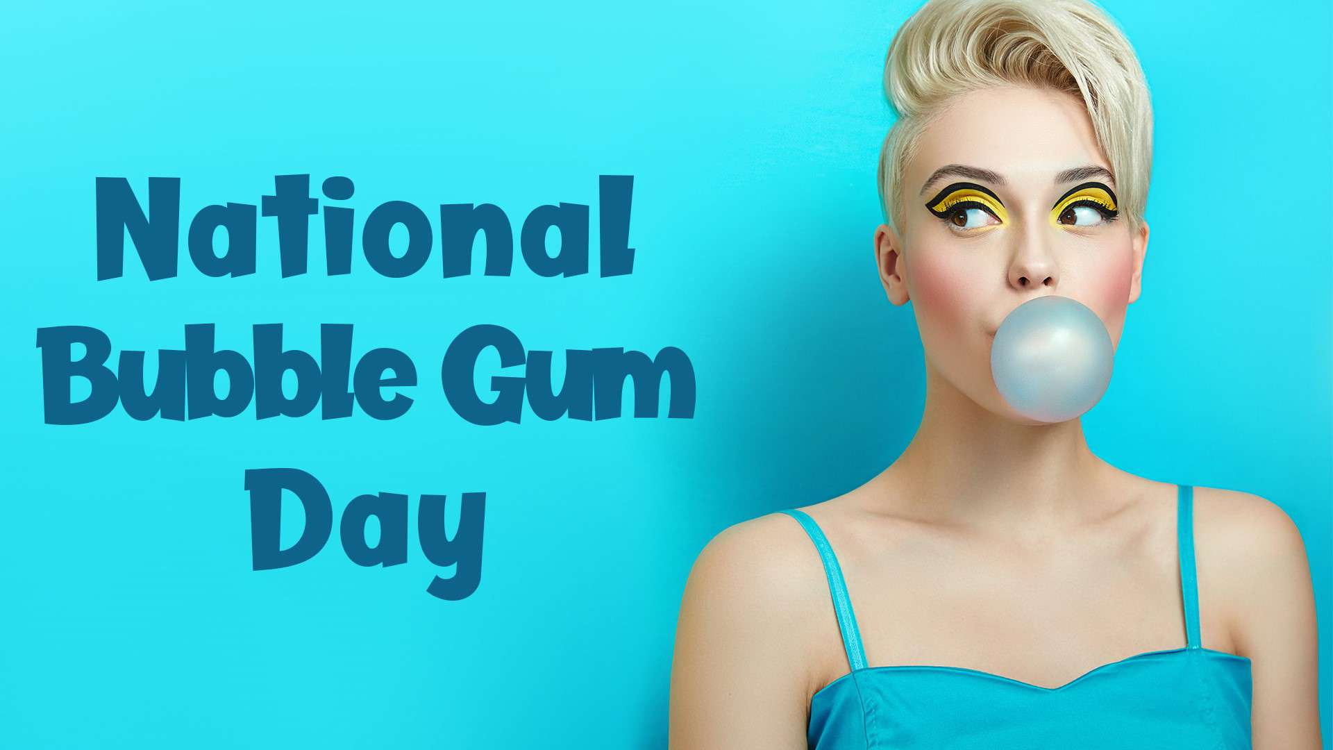 National Bubble Gum Day Wishes for Whatsapp