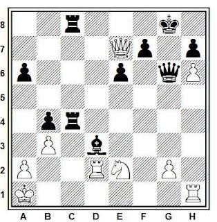 Problema ejercicio de ajedrez número 823: Grosar - Kozul (Bled, 1991)