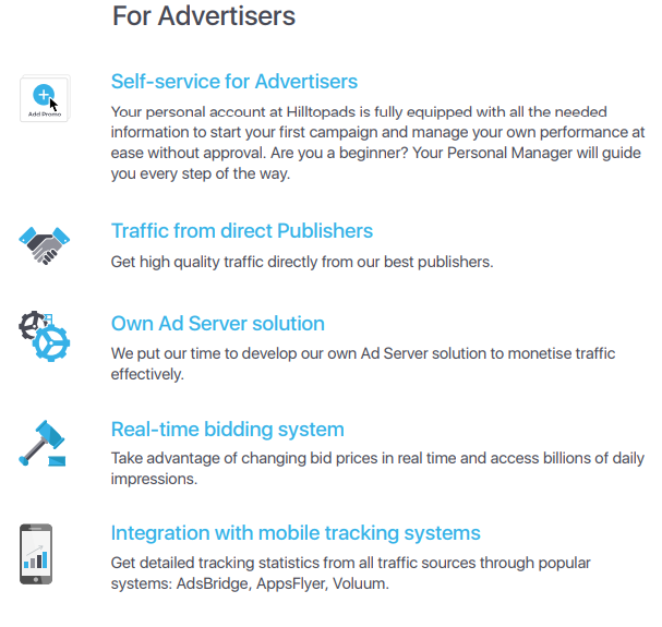 hill top ad network for advertising