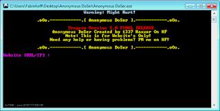 Kumpulan Software DDoS Yang Sering di Gunakan Hacker