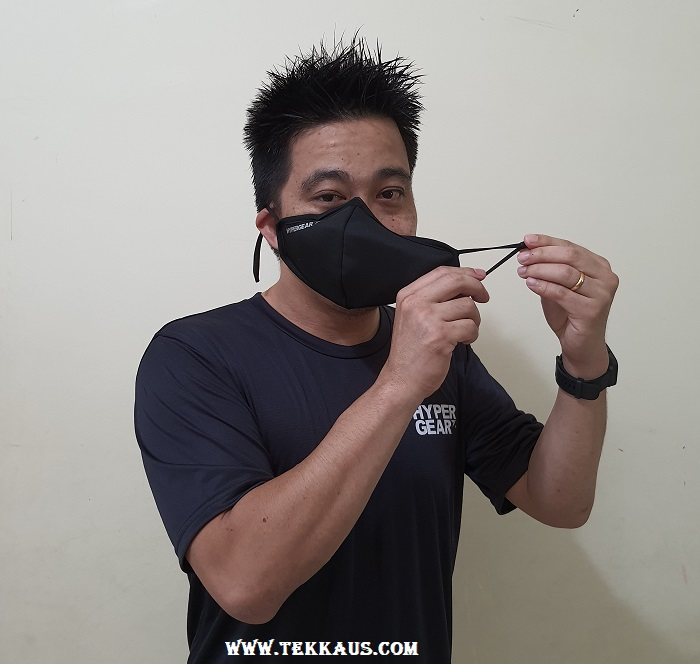 Face Mask With Adjustable Ear Loop
