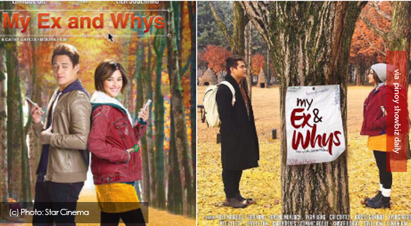 Star Cinema releases official movie posters of My Ex and Whys