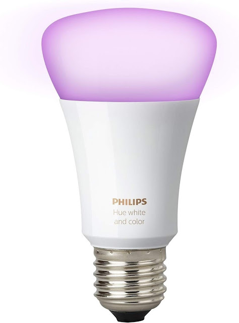 Gen 3 Philips Hue White and Color Ambiance A19 Smart Bulb Starter Kit