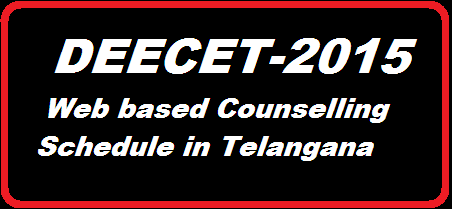 TS DECCET-2015/TTC /Counselling Schedule | Telangana DEECET-2015 Web Counselling Schedule | Web Counselling Schedule for TSDEECET-2015 in Telangana State | DSE Telangana has anounced daywise schedule for TTC web counselling http://www.paatashaala.in/2016/02/ts-deecet-2015-ded-ttc-web-counselling-schedule-in-telangana.html