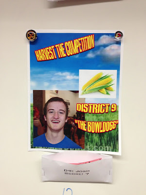 The Hunger Games Class Tributes: student marketing projects