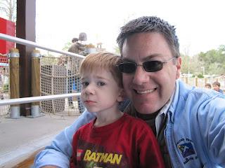 A photo of David Brodosi in the sun at Legoland