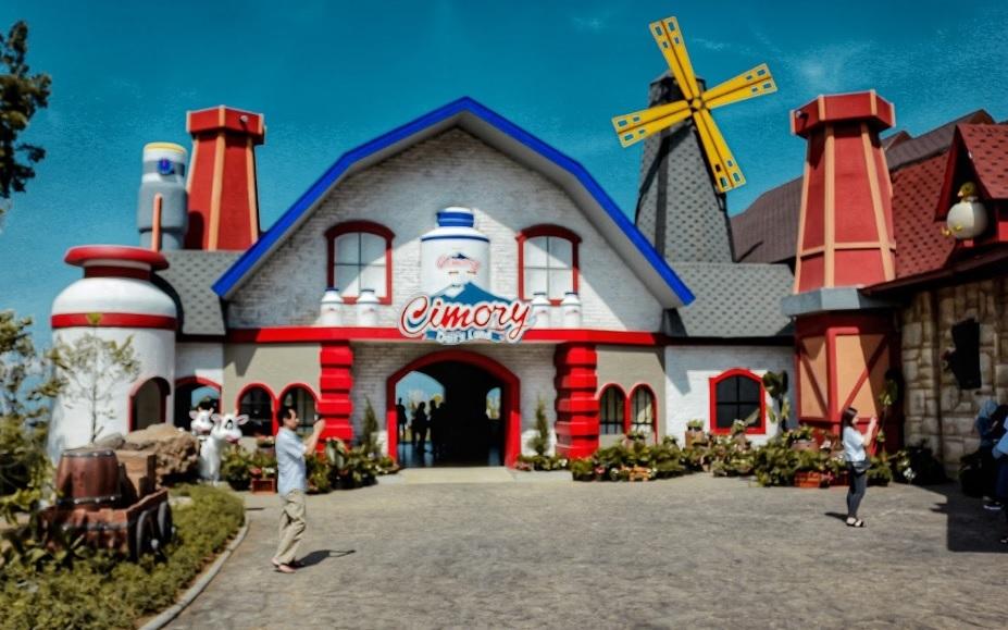 Destinasi Wisata Baru Cimory Dairyland Resto Tiket Masuk