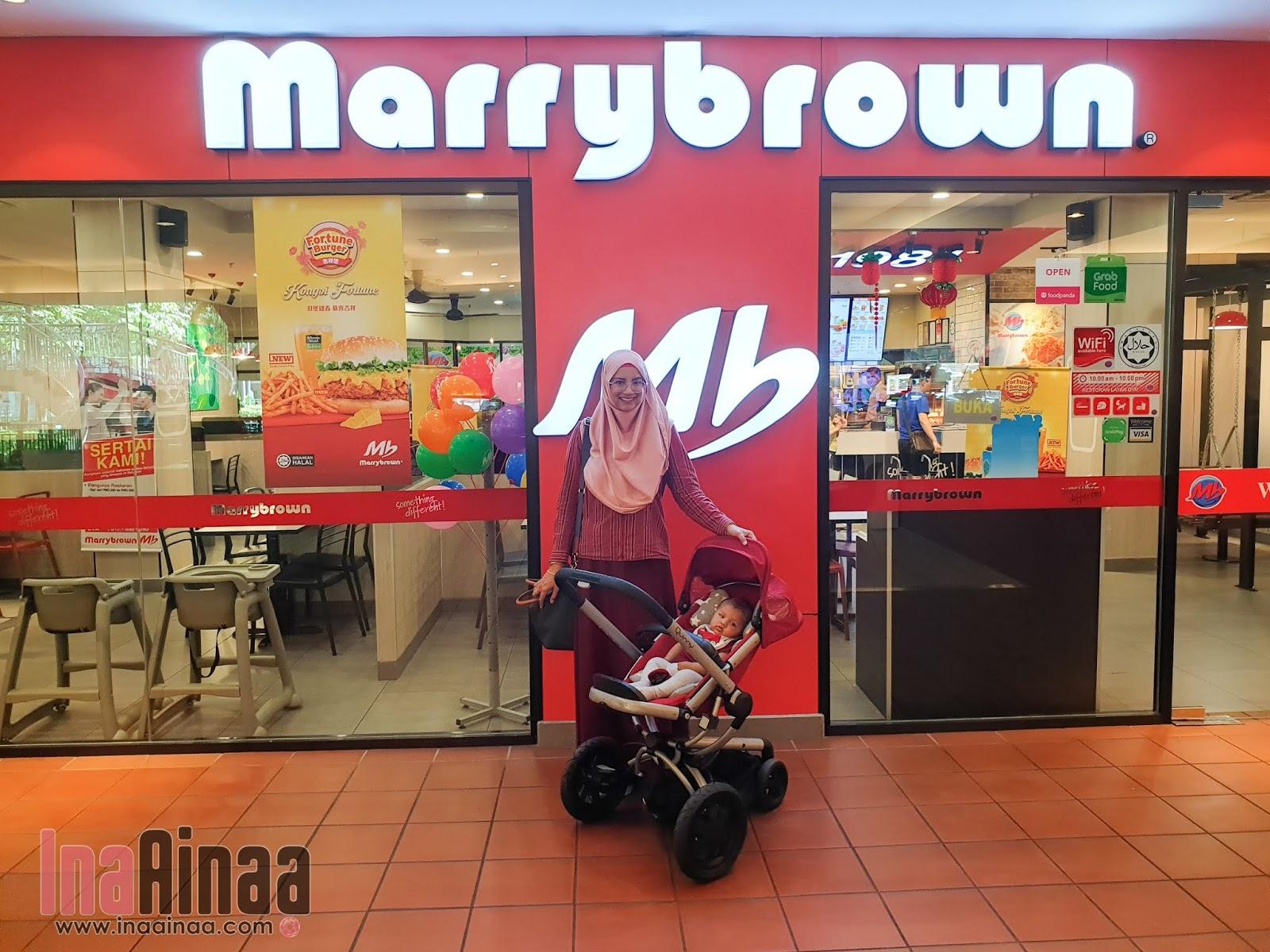 MARRYBROWN FORTUNE BURGER - Hak Milik Ina Ainaa