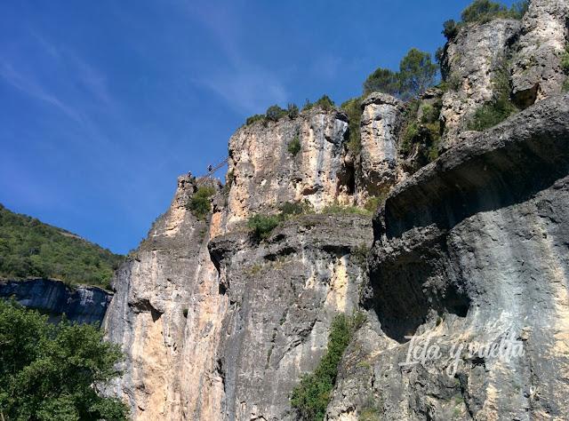 Naturaleza en Cuenca via ferrata de Priego
