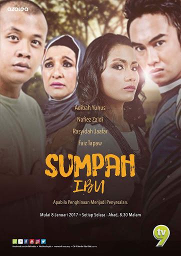 senarai pelakon drama sumpah ibu