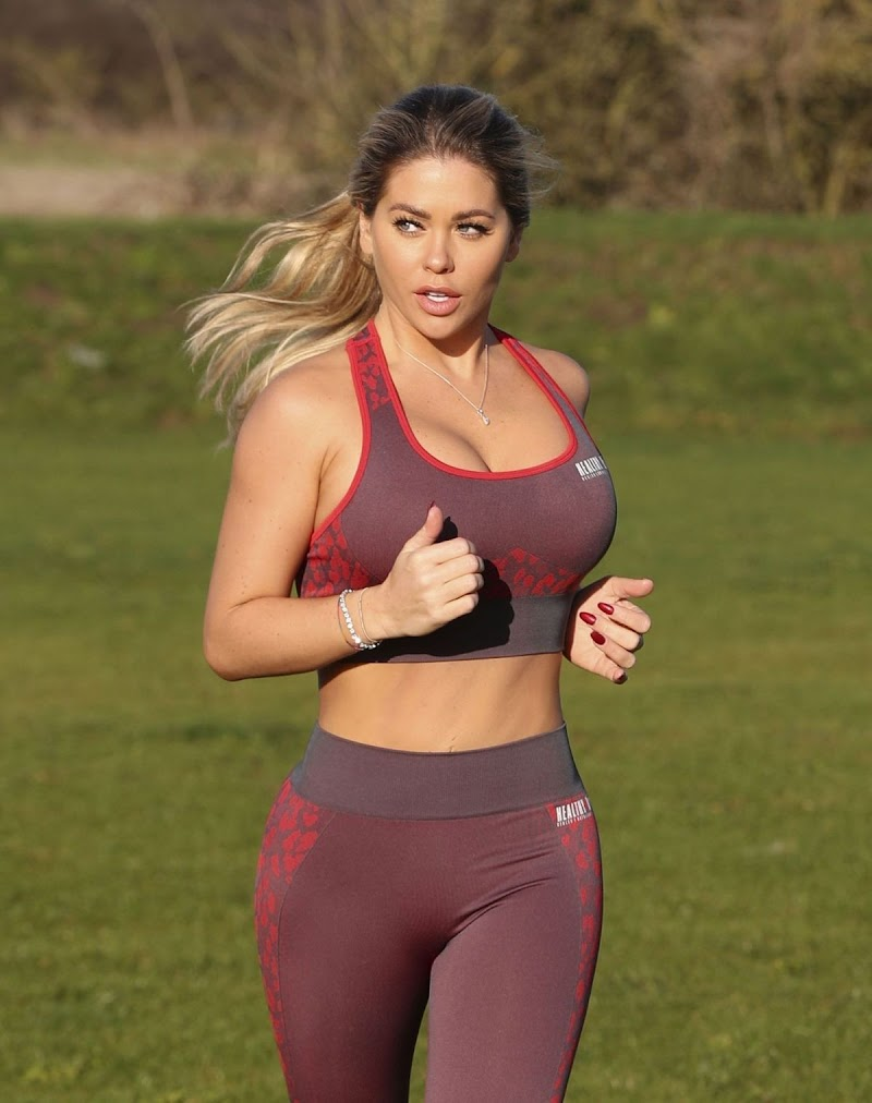 Bianca Gascoigne  Working Out at Prestige Bootcamp in Wales 18 Mar- 2020