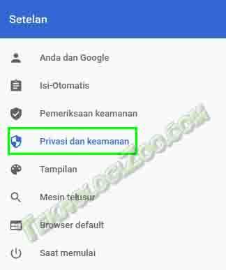 cara mengubah tampilan google menjadi hitam di hp