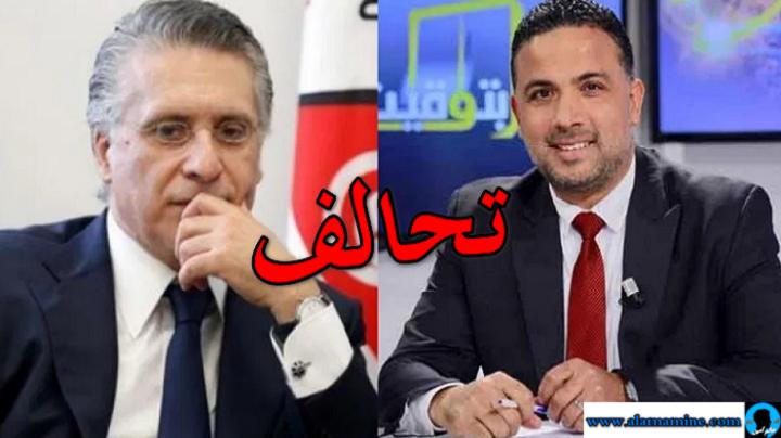 سيف الدين مخلوف يعلن تحالف ائتلاف الكرامة مع حزب قلب تونس