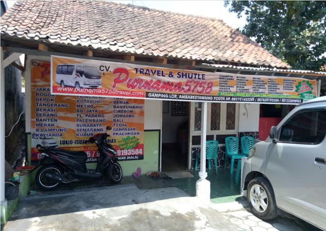 Travel Jakarta Yogyakarta